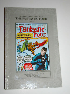 Marvel Masterworks Fantastic Four Vol 2 1963 Collects Issues 10-21 Softback Vgc