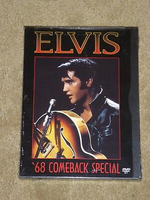 "ELVIS-""68 Comeback Special"",DVD,2000,NEW,sealed,rare,oop,Presley,King,Graceland"