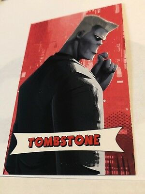 SPIDER-MAN INTO THE SPIDER-VERSE amc theaters trading card TOMBSTONE
