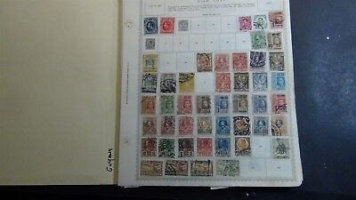 Thailand Siam stamp collection on Minkus & various pages w/ 650 stamps - '91