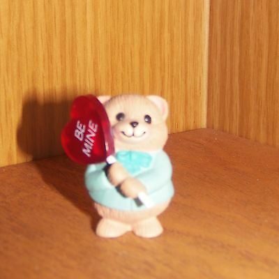 Hallmark  Merry Miniatures 1991 Bear with Lollipop Sweet Valentine #1