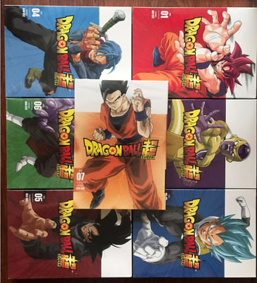 Dragon Ball Super z Parts 1 2 3 4 5 6 7 DVD Set  Sell 123456 1-7 English Dubbed
