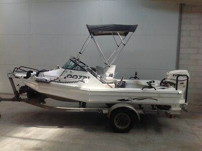 Stabicraft  4.3 m fishing boat not haines hunter, bar crusher, quintrex, stacer.