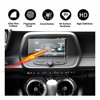 2016-2018 Chevrolet Camaro MyLink Navigation Protective Film Tempered Glass 7IN