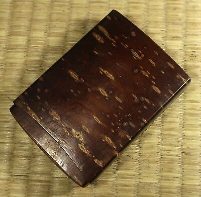 Cherry Bark Cigarette Case / Japanese / Vintage
