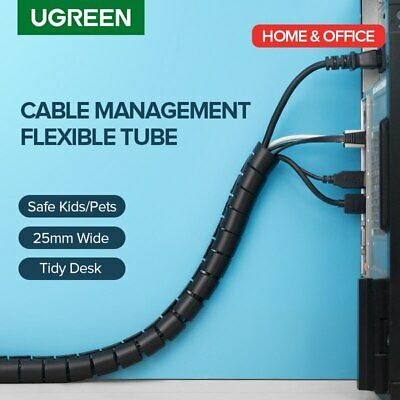 Ugreen Cable Holder Organizer 25mm Spiral Tube Wire Management Cord Winder