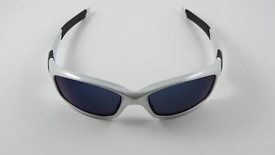 867692da79 Oakley Straight Jacket White Chrome Ice Iridium Blue Icons Matte Black NEW  RARE