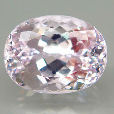 28.94ct.Attractive! 100%Natural Top Silver Pink Kunzite Unheated Brazil AAA Gia