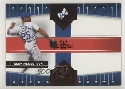 2005 Donruss Champions Red Impressions #208 Rickey Henderson Los Angeles Dodgers