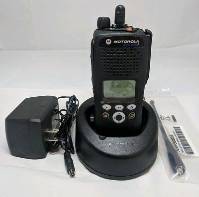 Motorola XTS2500 Model II 700/800Mhz P25 9600 Digital Astro W/ Charger TESTED