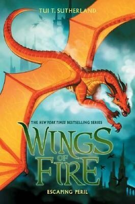 Wings of Fire #8: Escaping Peril 9780545685443 (Hardback, 2017)