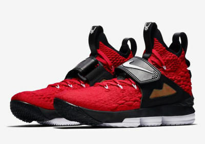 b306596569 Nike LeBron XV 15 Prime Diamond Turf PE Size 8-11 Red White Black AO9144