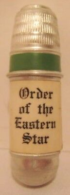 Old Masonic Order of the Eastern Star Miniature Sewing Kit w/ Star Emblem