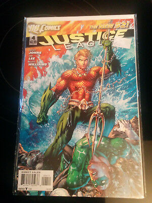 Justice League  #4 - the New 52 (Johns, Lee, Williams)