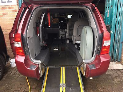 2011 Upfront Kia Sedona Brotherwood Conversion