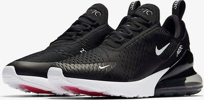 half off 3c023 fbde6 NIKE AIR MAX 270 Size 10 Black Anthracite and White Oreo Solar Red  AH8050-002