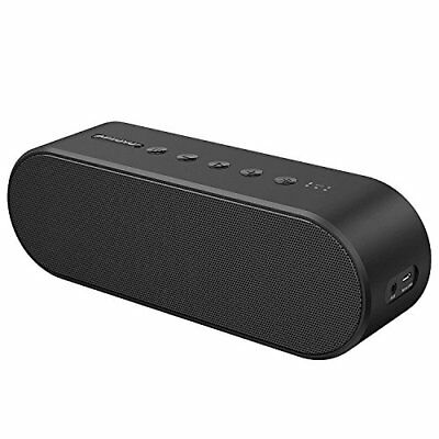 Aptoyu Bluetooth Speaker, 20W Power Wireless Portable Speakers with Built-in Mic