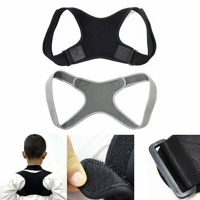 BodyWellness Posture Corrector Adjustable Orthotics Braces Back Support Strap HE