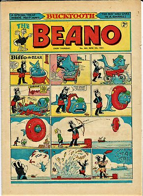 BEANO # 464 June 9th 1951 the comic magazine early Dennis the Menace