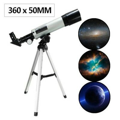 F360x50mm Professional Refractor Telescope Monocular Space Astronomical Scope-US