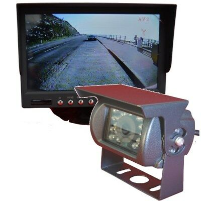 Dual 12 or 24 volt CMOS Reversing Camera System with 15m cable