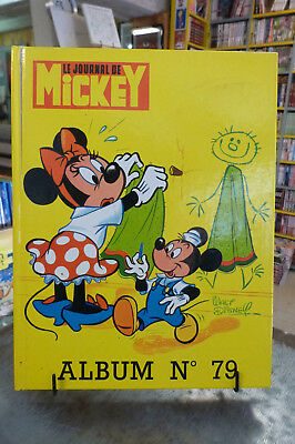 Le JOURNAL de MICKEY ALBUM N°79, n°1347 à 1356 1978