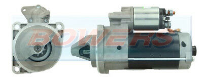 NEW STARTER MOTOR 24V 9TOOTH DRIVE 4.0kW C/W BOSCH 0001231 TYPE FITS IVECO ZETA