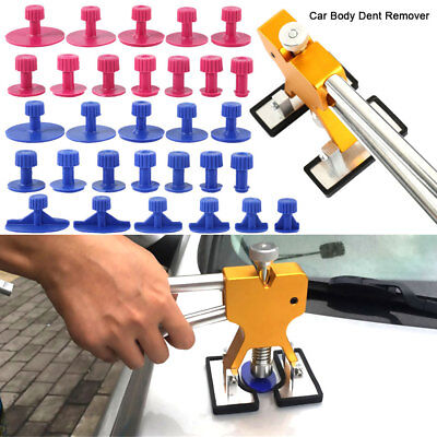 39x Car Paintless Dent Repair Tool Dint Hail Damage Remover Puller Lifter AU