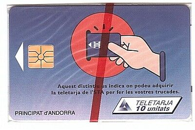 Andorre Phonecard - AND38 - Mint/Neuve NSB