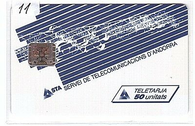 Andorre Phonecard - And10 S.T.A. - Mint/Neuve no blister