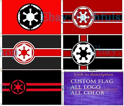 Star Wars Flag  Galactic Empire Flag Game 90x150cm 3x5ft Free shipping