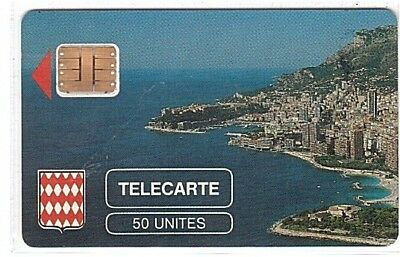 Monaco - Chip Phonecard - MF2 - Rocher de Monaco - Used/Usagée