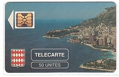 Monaco - Chip Phonecard - MF1a - Rocher de Monaco - Used/Usagée