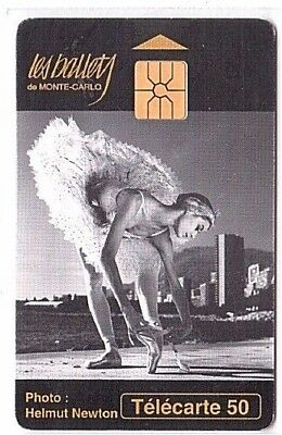 Monaco - Chip Phonecard - MF29a - Ballets 2 - Used/Usagée
