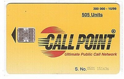 Pakistan - Chipcard Call Point 505 Units - Chip SC7 - Used/Usagée