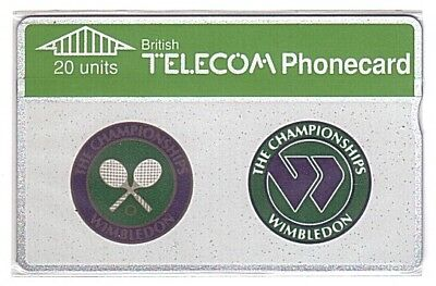 UK - Commemorative Card 25 Wimbledon 20 Units SN 025C  - Mint/Neuve No Blister