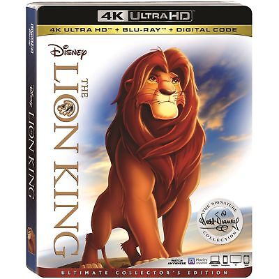 The Lion King Ultimate Collector's Edition 4K Case, Standard Blu-Ray, Slipcover