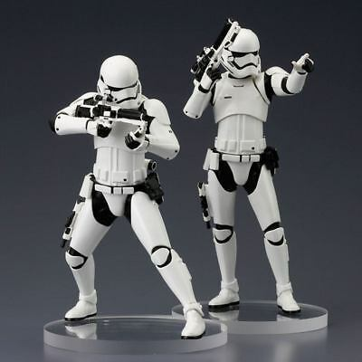 STAR WARS Episode VII First Order Stormtrooper TWO PACK Kotobukiya 1:10 Neu KA6*