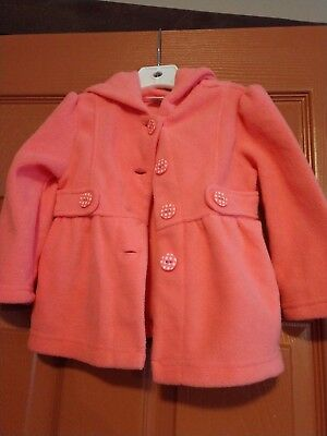 nwt Gymboree girls woodland wonders fleece jacket size 12-24 mos