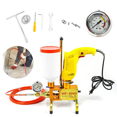 220V Electric Grouting Machine Injection Pump High Pressure Leak Stoppage Machin