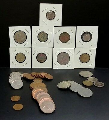 50 UK Coins Over 5£ Current Coinage & 1&2 Shilling Coins Plus Bonus 180720