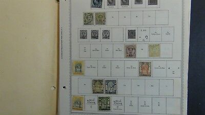Thailand Stamp collection on Minkus pages to '96 + glassines, etc.