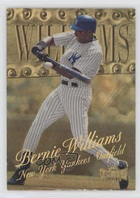 1999 Skybox Metal Universe Precious Gems #17 Bernie Williams New York Yankees