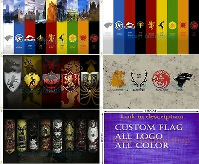 Game of The Thrones Flag 90x150cm 3x5ft Free shipping
