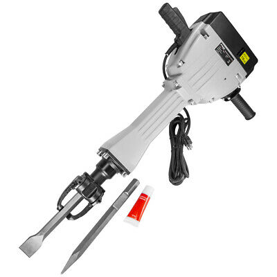 Electric Demolition Concrete Jack Hammer With Chisel & Case 2200 Watt 75j force