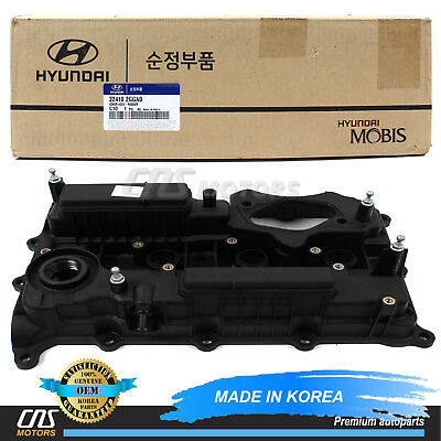 224102G710 Engine Valve Cover for Kia 11-13 Optima Sorento Sportage OEM NEW