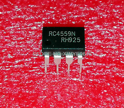 Hot Sell   5PCS  RC4559N  RC4559  DIP-8  Operational amplifier  IC