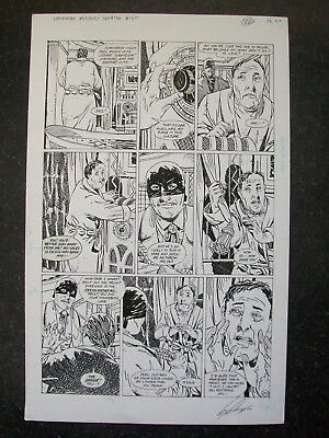Sandman Mystery Theatre Issue 20 Page 20 Guy Davis Ar Scorpions Final Victim