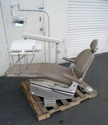 A-DEC 1011 / 1021 Dental Patient Chair with 2122 System and ADEC Light 6300
