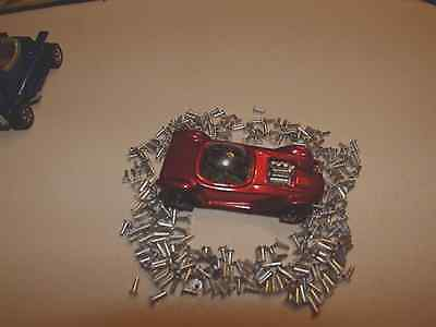 50 Redline Hot Wheels Replacement Body And Chassis Flat Rivets L@@k